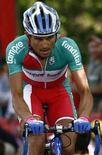 <p>Il ciclista Marzio Bruseghin. REUTERS/Stefano Rellandini (Italia)</p>