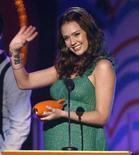 <p>Jessica Alba durante una premiazione nel marzo scorso REUTERS/Mario Anzuoni</p>
