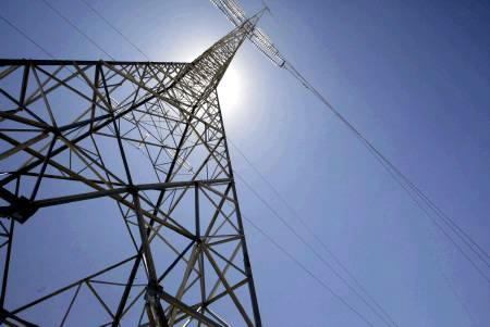 An electrical pylon is seen in a handout photo. REUTERS/Handout