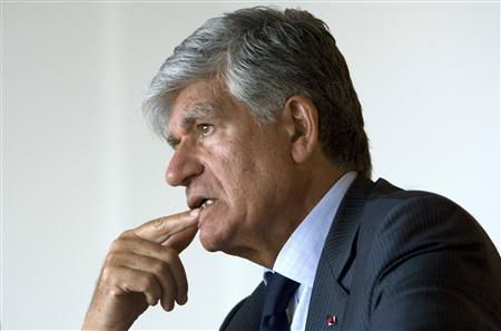 Publicis CEO Maurice Levy addresses the Reuters Technology summit in Paris May 20, 2008. REUTERS/Mal Langsdon
