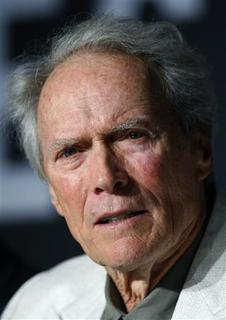 U.S. director Clint Eastwood attends a news conference for the film ''The Exchange'' at the 61st Cannes Film Festival May 20, 2008. REUTERS/Jean-Paul Pelissier