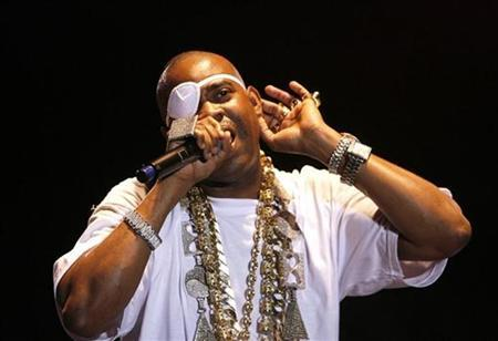 Hip Hop artist Richard ''Slick Rick'' Walters performs during the opening night of the Martin Luther King Jr. Concert Series in the Brooklyn borough of New York July 9, 2007. REUTERS/Lucas Jackson