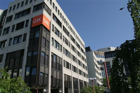 The GfK headquarters is pictured in Nuremberg in an undated handout photo released to Reuters June 3, 2008. REUTERS/GfK Group/Handout