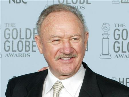 Gene Hackman is seen in Beverly Hills in a 2003 file photo. REUTERS/Andy Clark