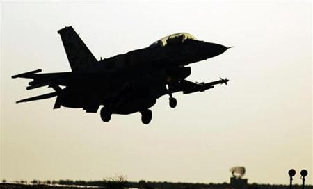 An Israeli fighter jet takes off from an air force base in a file photo. An Israeli attack on Iranian nuclear sites looks ''unavoidable'' given the apparent failure of sanctions to deny Tehran technology with bomb-making potential, one of Prime Minister Ehud Olmert's deputies said on Friday. REUTERS/Abir Sultan/IDF/Handout