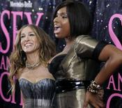 "<p>Sarah Jessica Parker (a sinistra) e Jennifer Hudson alla prima del film ""Sex And The City"" REUTERS/Joshua Lott</p>"