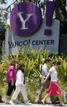 <p>Microsoft n'est plus disposé à racheter Yahoo pour 33 dollars par action et les discussions entre les deux groupes se sont achevées sans qu'aucun accord ait été conclu, rapporte jeudi le Wall Street Journal. /Photo prise le 19 mai 2008/REUTERS/Lucy Nicholson</p>