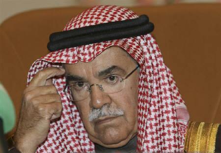 6月15日、潘基文国連事務総長、サウジのヌアイミ石油鉱物資源相(写真)と会談後、サウジが原油生産を7月から日量970万バレルに引き上げると発表。1月6日撮影(2008年 ロイター/Ali Jarekji)