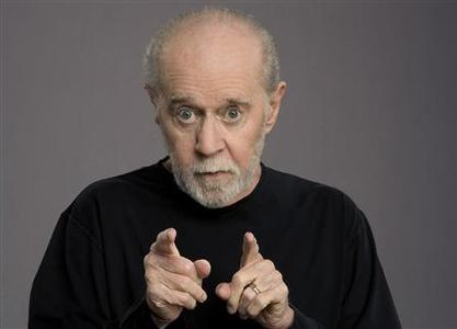 Comedian George Carlin is shown in a publicity photograph promoting his 2008 HBO TV special ''George Carlin It's Bad for Ya.'' REUTERS/Robert Sebree/HBO/Handout