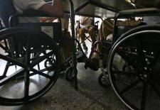 <p>Alcuni disabili in sedia a rotelle. REUTERS/Claudia Daut</p>