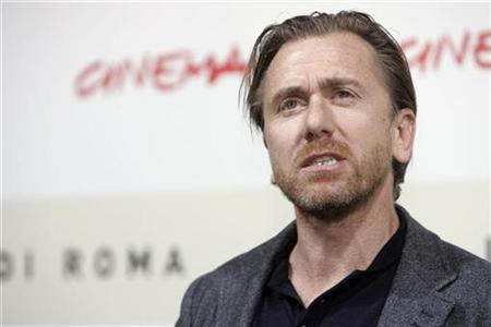 British Actor Tim Roth attends a photo call to present his latest movie ''Youth without youth'' at the Rome International Film Festival October 20, 2007. REUTERS/Dario Pignatelli