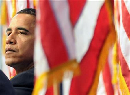 Presumptive Democratic Presidential nominee Senator Barack Obama listens to a panellist at the Economic Competitiveness Summit held at Carnegie Mellon University in Pittsburgh, Pennsylvania, June 26, 2008. REUTERS/David DeNoma