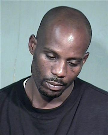 Rapper Earl ''DMX'' Simmons is shown in this Maricopa County Sheriff's Department booking photograph July 2, 2008. Rap star DMX was arrested July 2, 2008 on outstanding warrants as he arrived at a Phoenix airport after a stay in Florida, authorities said. REUTERS/Maricopa County Sheriff Department/Handout