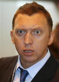 Russian billionaire Oleg Deripaska is shown in this file picture. REUTERS/Ilya Naymushin