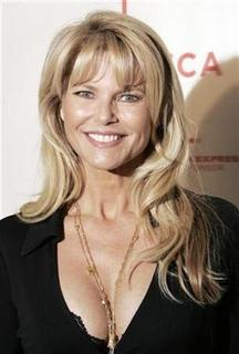 Christie Brinkley arrives to attend the Short Film Program and opening of the Tribeca Film Festival in New York April 25, 2007. REUTERS/Lucas Jackson