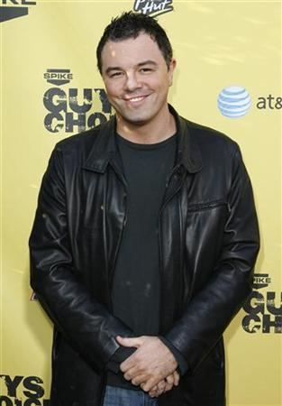 Actor and producer Seth MacFarlane arrives at the first annual Spike television's ''Guys Choice'' awards show in the Studio City area of Los Angeles June 9, 2007. REUTERS/Gus Ruelas