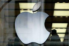 <p>Il logo di Apple. REUTERS/Dylan Martinez/Files</p>