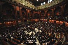<p>Aula della Camera dei deputati, in un'immagine d'archivio. REUTERS/Alessandro Bianchi</p>
