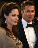 <p>Angelina Jolie e Brad Pitt REUTERS/Vincent Kessler</p>
