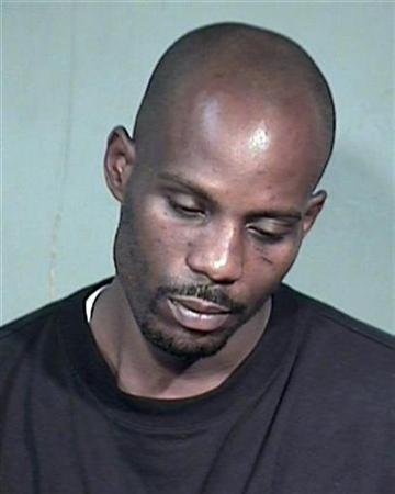 Rapper Earl ''DMX'' Simmons is shown in this Maricopa County Sheriff's Department booking photograph July 2, 2008. REUTERS/Maricopa County Sheriff Department/Handout