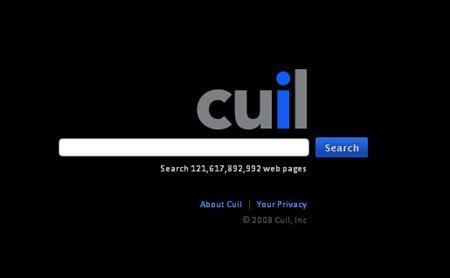 A screen grab of www.cuil.com is shown, July 28, 2008. REUTERS/www.cuil.com