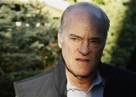File photo shows Henry Kravis, founder Kohlberg Kravis Roberts & Co. arriving at the 26th annual Allen & Co conference in Sun Valley, Idaho July 10, 2008. REUTERS/Rick Wilking