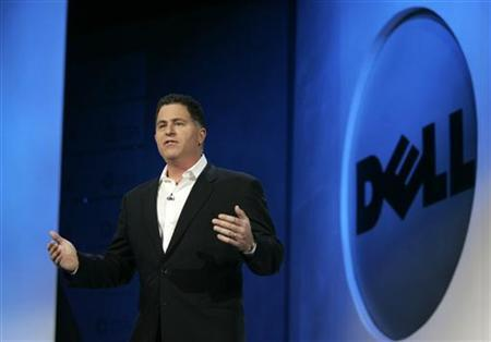 Chairman and CEO of Dell Inc., Michael S. Dell delivers his keynote address at the 2007 International CES (Consumer Electronics Show) in Las Vegas, Nevada January 9, 2007. REUTERS/Rick Wilking
