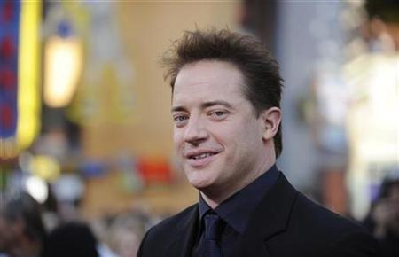 Brendan Fraser attends the premiere of the film ''The Mummy: Tomb of the Dragon Emperor'' in Los Angeles July 27, 2008. REUTERS/Phil McCarten