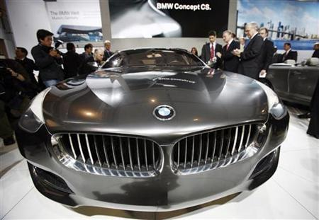 The BMW Concept CS is shown at the New York International Auto Show, March 19, 2008. REUTERS/Shannon Stapleton