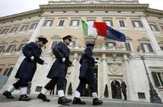 <p>Palazzo Montecitorio. REUTERS/Dario Pignatelli (ITALY)</p>