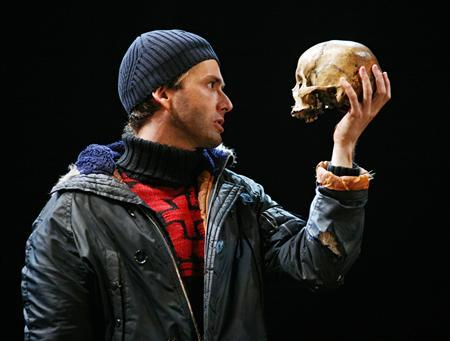 Actor David Tennant as Hamlet in an undated photo courtesy of the Royal Shakespeare Company REUTERS/Ellie Kurttz/RSC/EPO/Handout