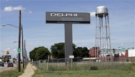 A general view of the Delphi Flint East assembly plant in Flint, Michigan June 22, 2007. REUTERS/Rebecca Cook