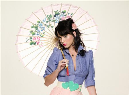 Katy Perry poses in an undated publicity photo. REUTERS/Michael Elins/Capitol Music Group/Handout