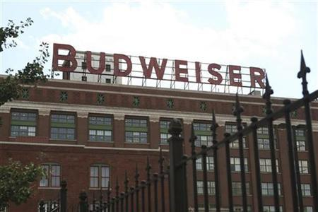 Anheuser Busch, Inc. World Headqaurters in St Louis, July 14, 2008. REUTERS/Peter Newcomb