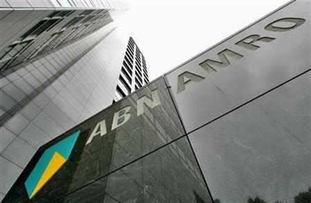 The head office of ABN AMR in Amsterdam in a file photo. REUTERS/Koen van Weel