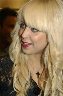 Peaches Geldof, daughter of Bob Geldof, attends a cocktail party in a store in Sydney September 20, 2007. REUTERS/Patrick Riviere