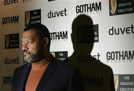 Actor Laurence Fishburne arrives to attend the Creative Coalition Awards Gala honoring individuals for their commitment to champion social welfare issues in New York, December 18, 2006. REUTERS/Lucas Jackson