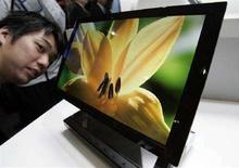 <p>Un display Oled REUTERS/Yuriko Nakao</p>