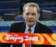 <p>Il presidente del Comitato Internazionale per le Olimpiadi (Cio) Jacques Rogge. REUTERS/Tim Wimborne (Cina)</p>