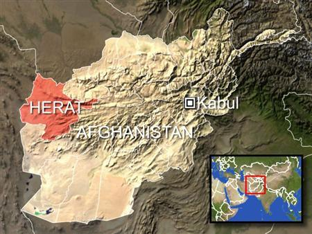 U.S.-led coalition forces killed dozens of Afghan civilians, most of them women and children, in the western Afghanistan province of Herat on Friday, the Afghan Interior Ministry said. REUTERS/Graphics