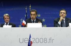 <p>Саммит Евросоюза. Фотография сделана 1 сентября 2008 года. Россия приветствовала решение Евросоюза, касающееся отношений с Москвой после ее военной операции в Грузии, назвав его признаком стремления к партнерству, и оспорила некоторые ключевые тезисы совместного заявления блока. REUTERS/Francois Lenoir</p>