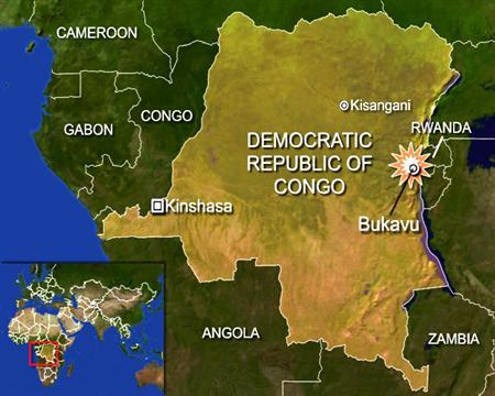 A humanitarian plane carrying 17 passengers and crew that went missing in Democratic Republic of Congo has crashed into a mountain and all aboard are feared dead, the flight contractor said on Tuesday. REUTERS/Graphics