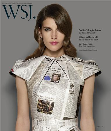 Wall Street Journal: A must read for fashion, art?