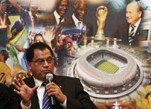 <p>L'AD del comitato per l'organizzazione dei Campionati del Mondo Sudafrica 2010 Danny Jordaan. REUTERS/Siphiwe Sibeko</p>