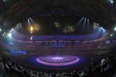 <p>Spettacolo di apertura delle Paraolimpiadi di Pechino, il 6 settembre 2008. REUTERS/Joe Chan (Cina)</p>