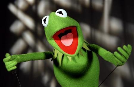 Kermit the Frog is seen in this photograph taken September 26, 2005. REUTERS/Mike Segar
