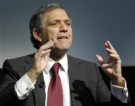 Les Moonves, President and CEO of CBS Corporation, speaks at a forum titled ''Beyond Primetime, will media help grow healthier kids'' in New York February 6, 2007. REUTERS/Chip East