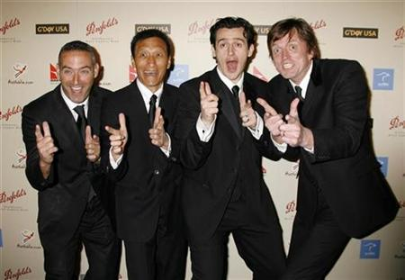 The Wiggles pose as they arrive at the G'Day USA: Australia Week 2007 Penfolds Icon gala in Los Angeles January 13, 2007. REUTERS/Fred Prouser