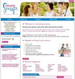 <p>A screen grab of mumswap.com.au. REUTERS/mumswap.com.au</p>