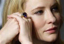 "<p>Cast member Cate Blanchett attends a news conference for the film ""Indiana Jones and the Kingdom of the Crystal Skull"" by U.S. director Steven Spielberg at the 61st Cannes Film Festival May 18, 2008. REUTERS/Jean-Paul Pelissier</p>"